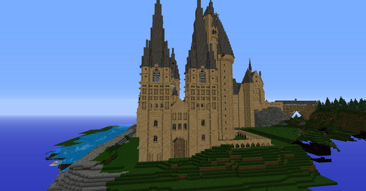 [1.2.5]HPCraft : Best Hogwarts ever ! Minecraft Project