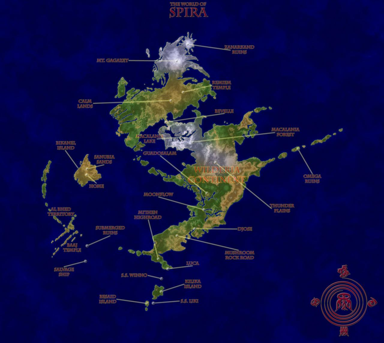 Final Fantasy X World Map.World Of Spira Final Fantasy X Minecraft Project
