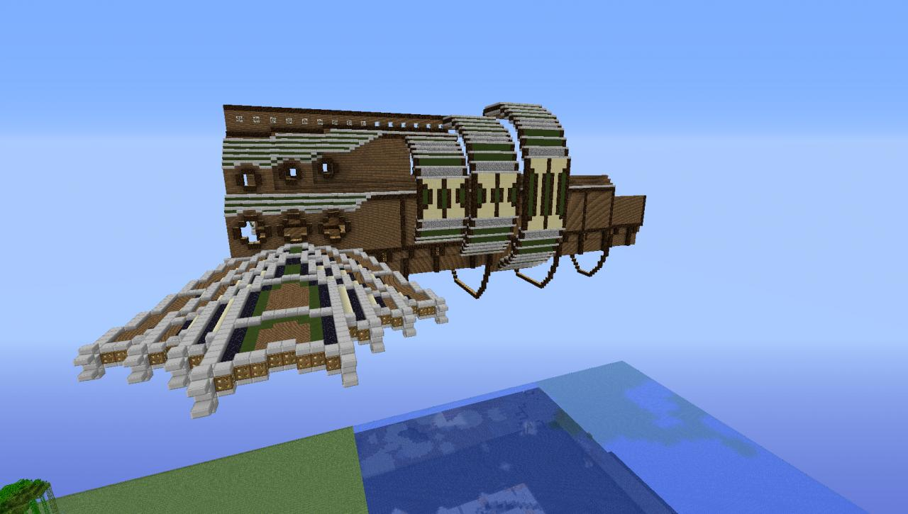 Airship [WIP by Sycoinc] Minecraft Map