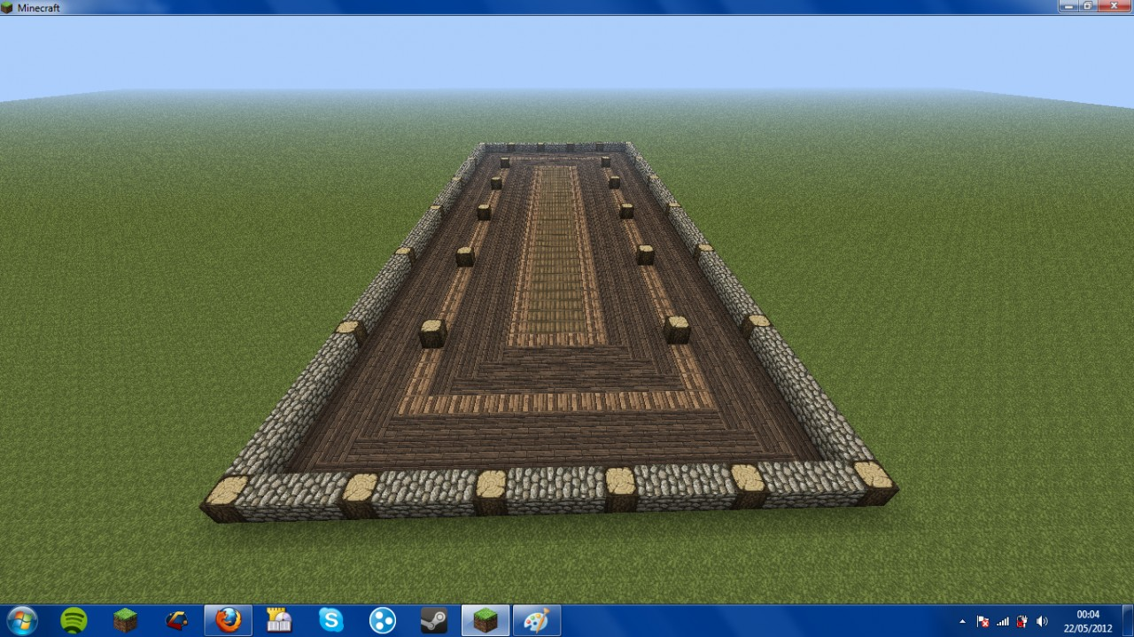 barbarians longhouse dining hall minecraft project