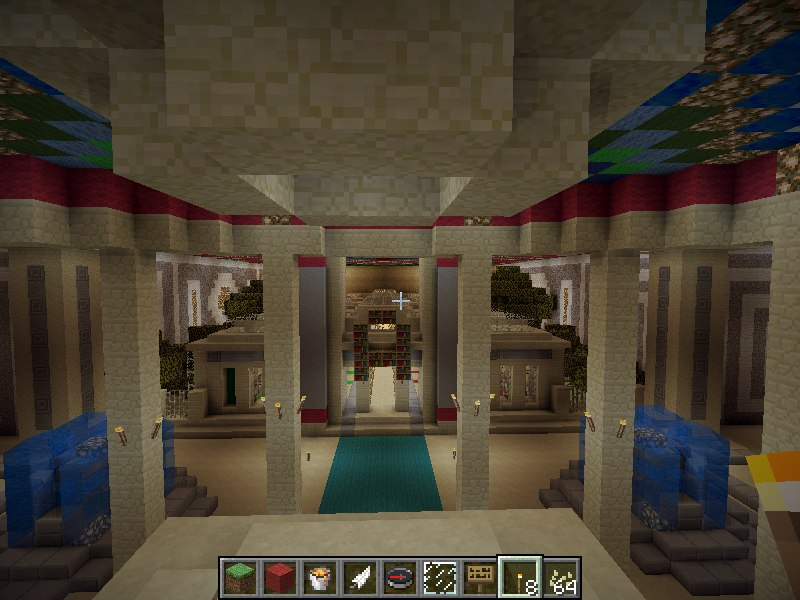 Greek Athens Spawn Minecraft Project
