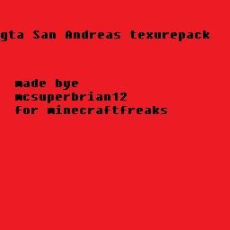 GTA texture pack Minecraft Texture Pack