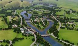 Sim City Minecraft Map & Project