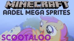 ★Aadel Mega Sprites ★-Mlp Scootaloo Minecraft Map & Project