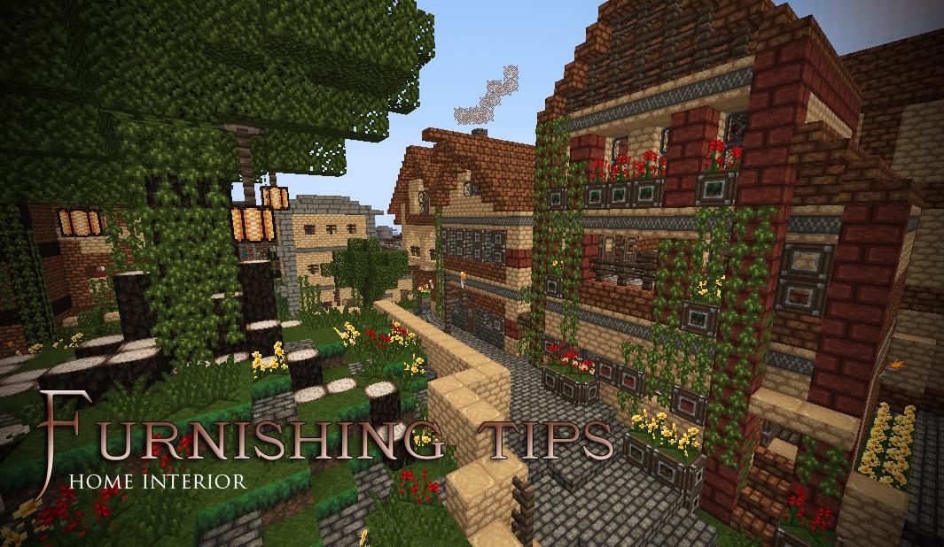 Lannisport. Furnishing Tips   Home interior Minecraft Project