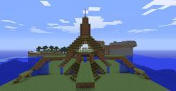 Alien SpaceShip Minecraft Map & Project