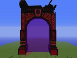 Huge Nether Portal (Working) Minecraft Map & Project