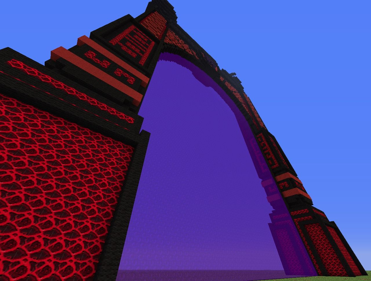 how to build a big nether portal