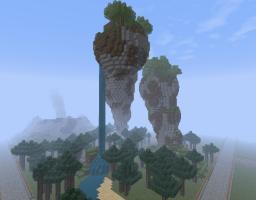 Epic landscape sculpture Minecraft Map & Project