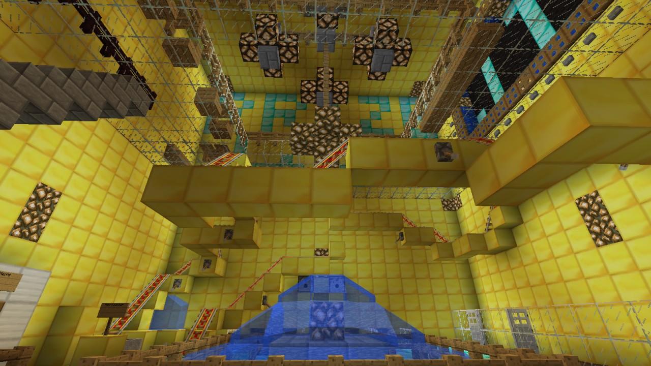 Minecraft World Map - Castle