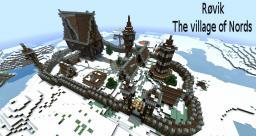 Røvik - The village of Nords Minecraft
