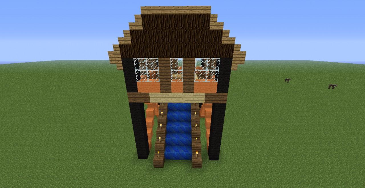 Modern Day Stilt House Minecraft Project