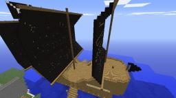 HUGE pirate ship Minecraft