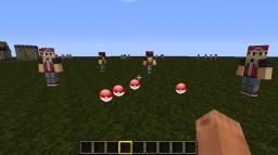 [1.4.7] Pokeball Mod v1.8 - With pokeballs, pokemon trainers and more. 300 diamonds?