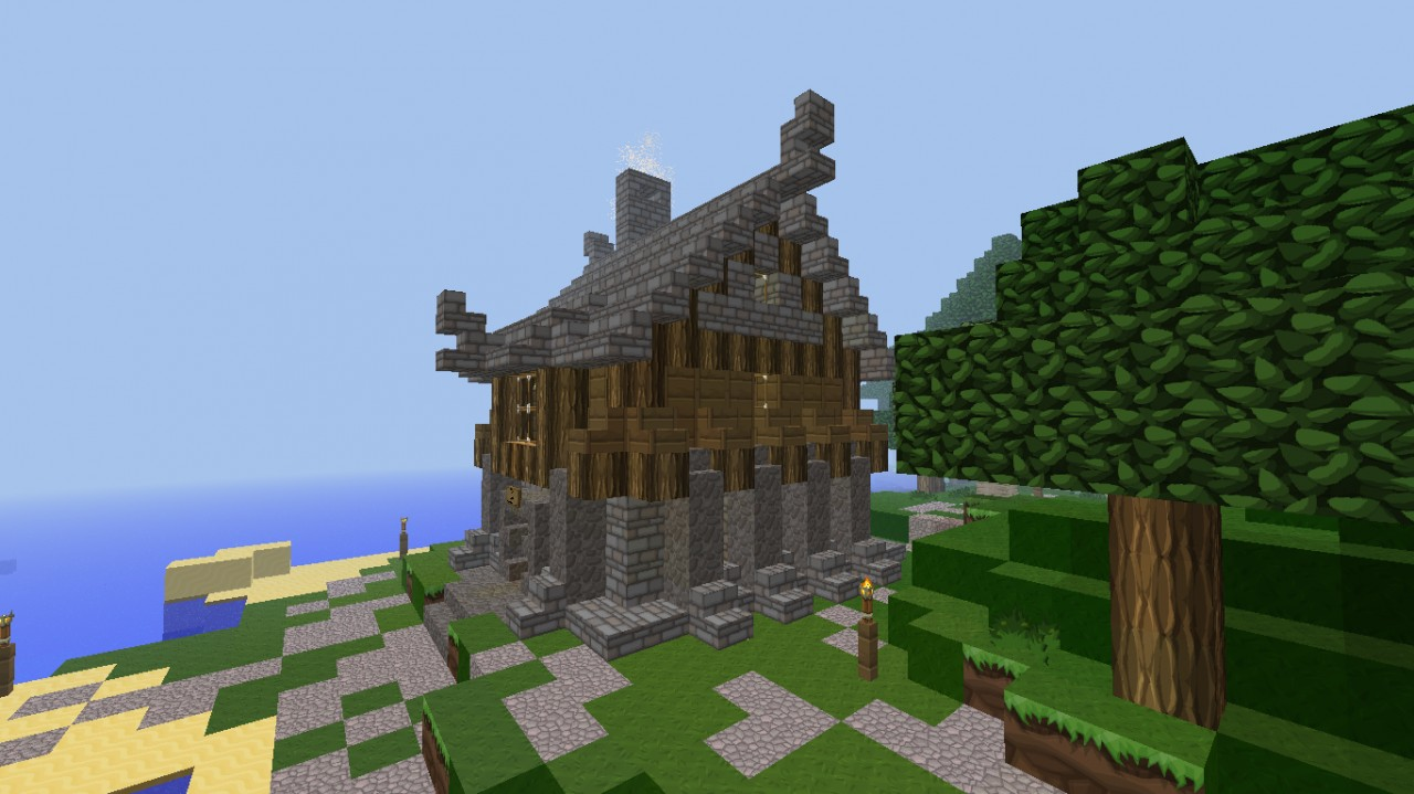 viking type house minecraft project