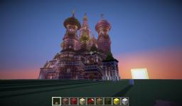St.Basils Cathedral Minecraft Map & Project