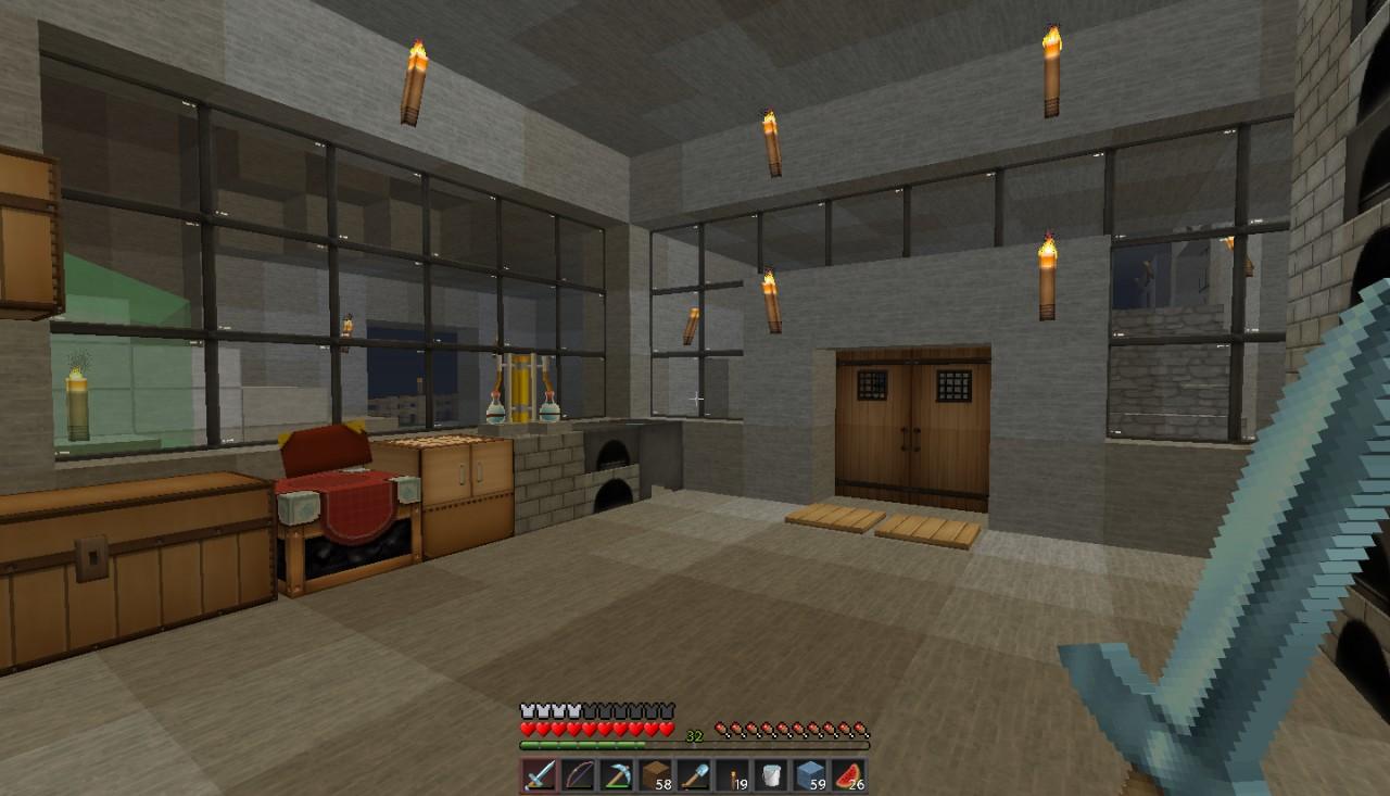 Underground Base Minecraft Project