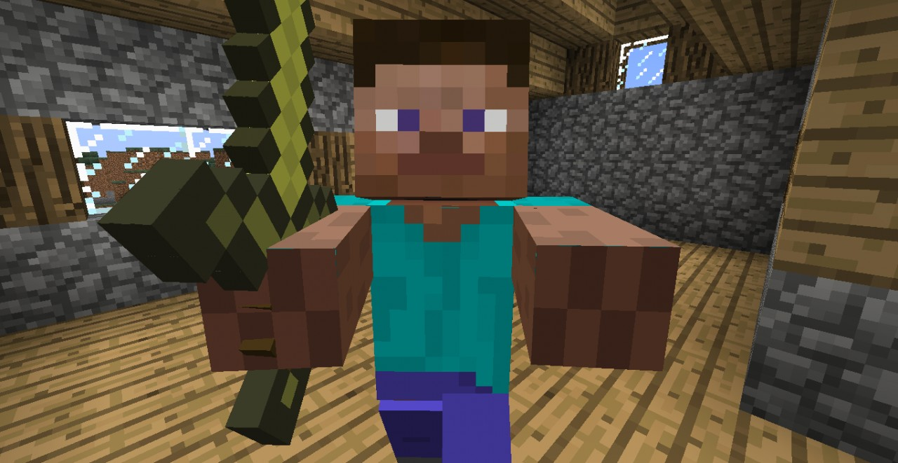 u are the zombie Minecraft Texture Pack
