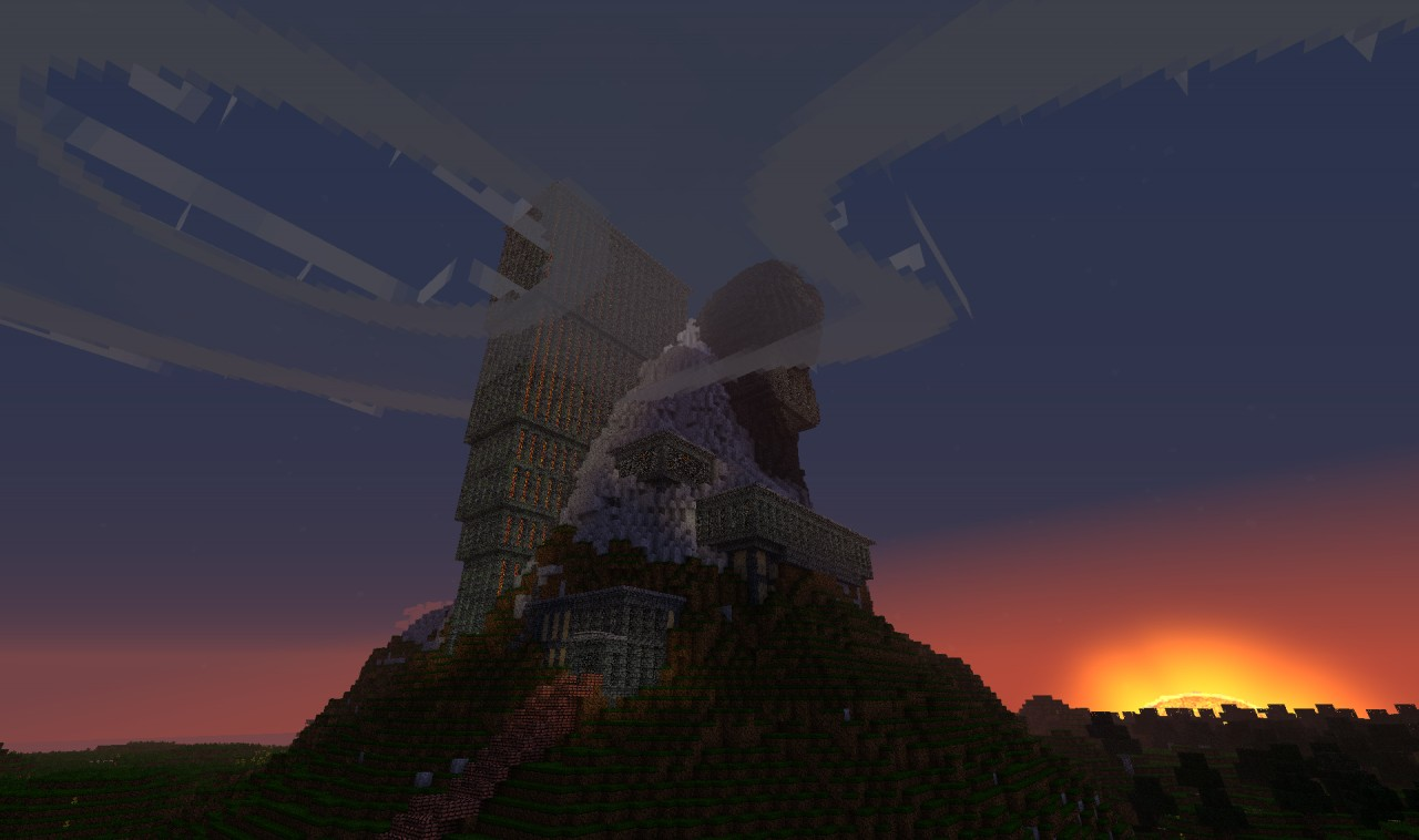 Mount Doom Minecraft Project