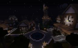 Big medieval Town castel Minecraft Map & Project