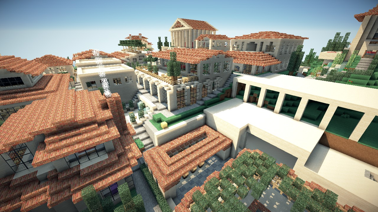 World of Keralis - Making Minecraft pic! Modern ity Minecraft Server - ^
