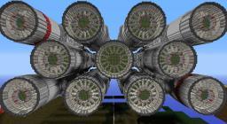 Corellian Corvette 5:1 Scale [WIP] Minecraft Map & Project