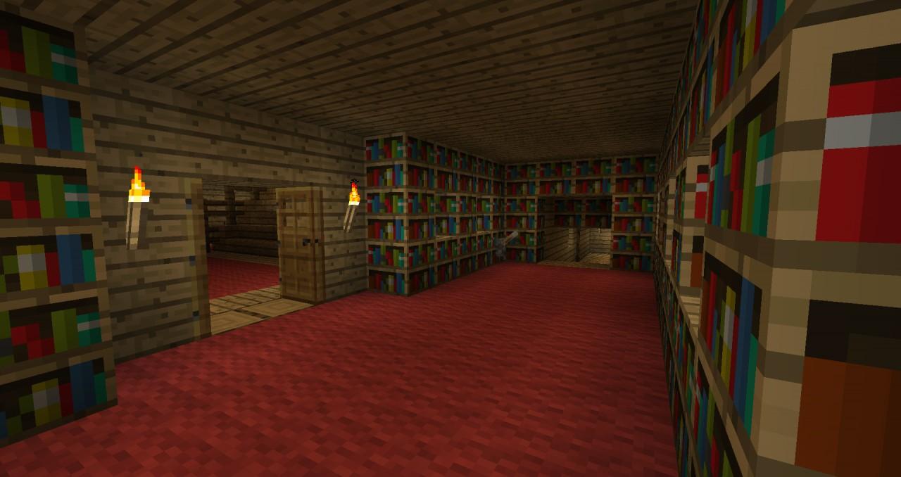Book Lever For Hidden Room
