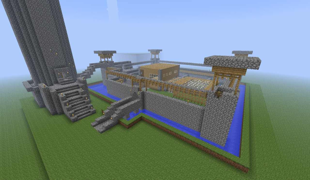Schematic Military Barrack Minecraft Project on minecraft redstone schematics, minecraft schematics and blueprints, minecraft maze, minecraft enterprise blueprints, minecraft schematics blueprints mob spawner,