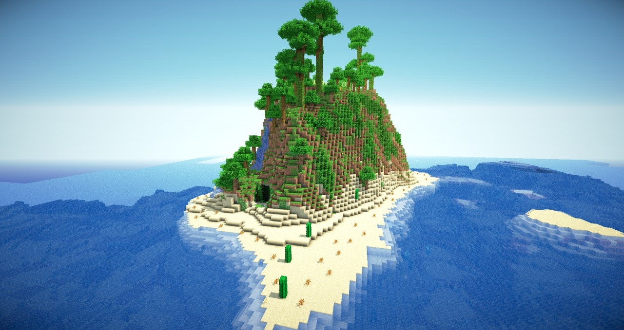 The Mystic Cave Survivor Map Minecraft Project