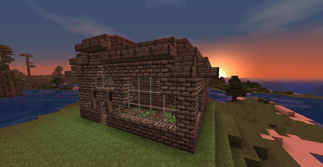 Beautiful Brick Home Minecraft Project