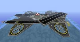 Aircarrier Avenger-Class Minecraft Project