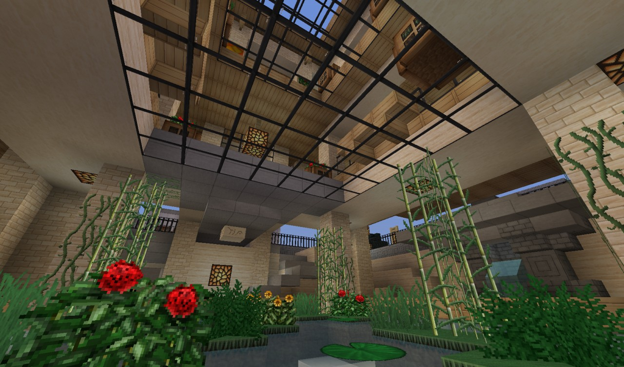 The House Of Glass World Of Keralis Server Minecraft Project