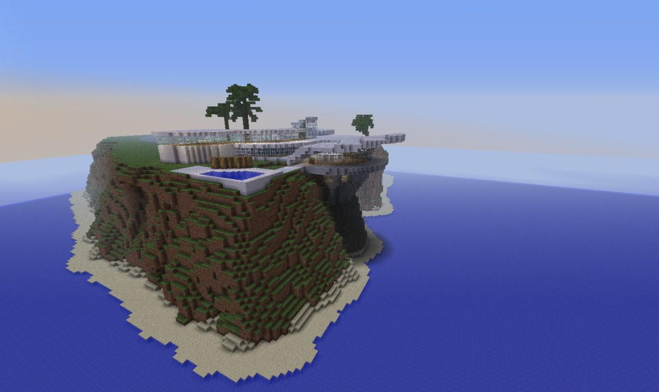 Cliff House Tony Stark  Iron Man  Minecraft Map