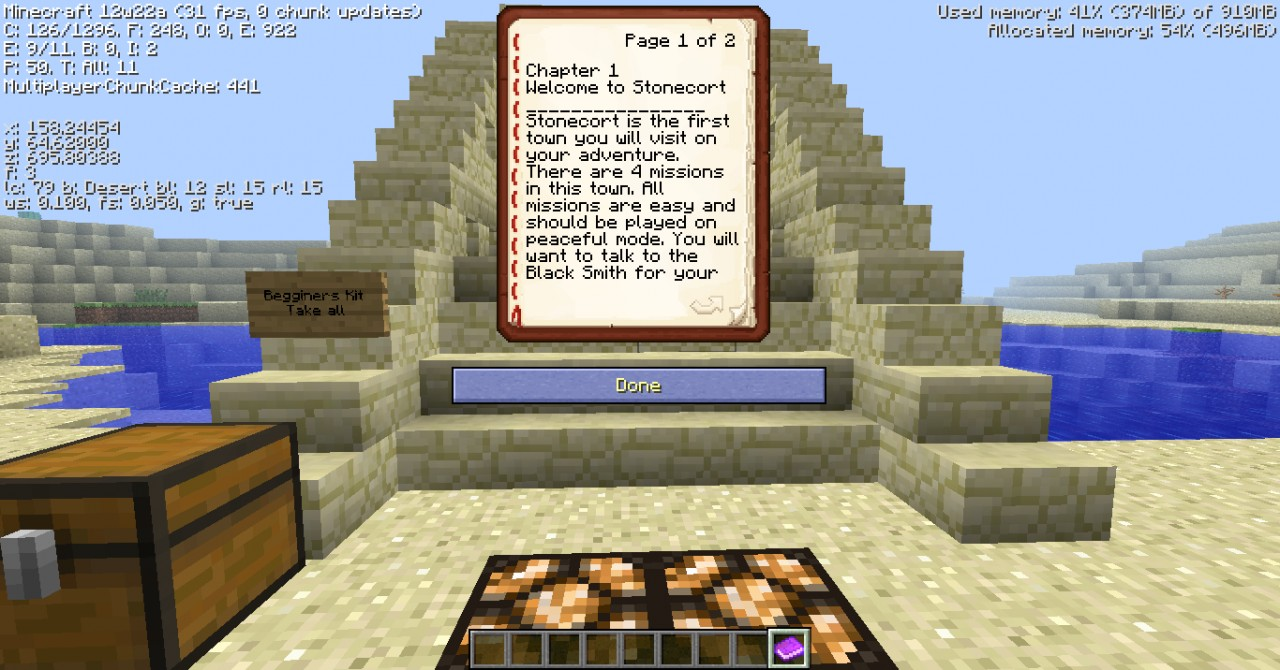a minecraft adventure A 113 minecraft adventure map that combines the depths of the sea aesthetic with classic rpg quest themed gameplay.