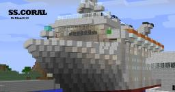【Ss.Coral】cruise ship! Minecraft Project