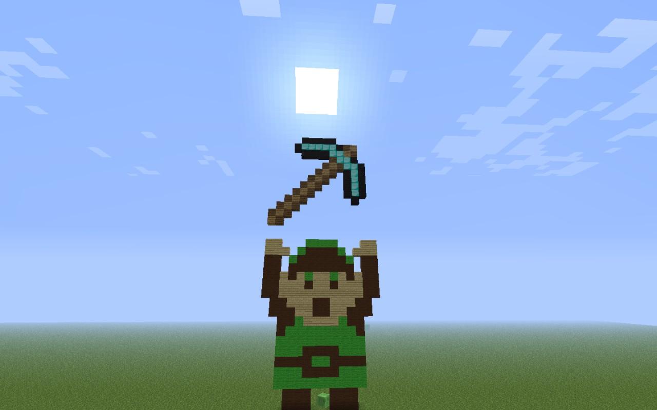 Diamond axe minecraft