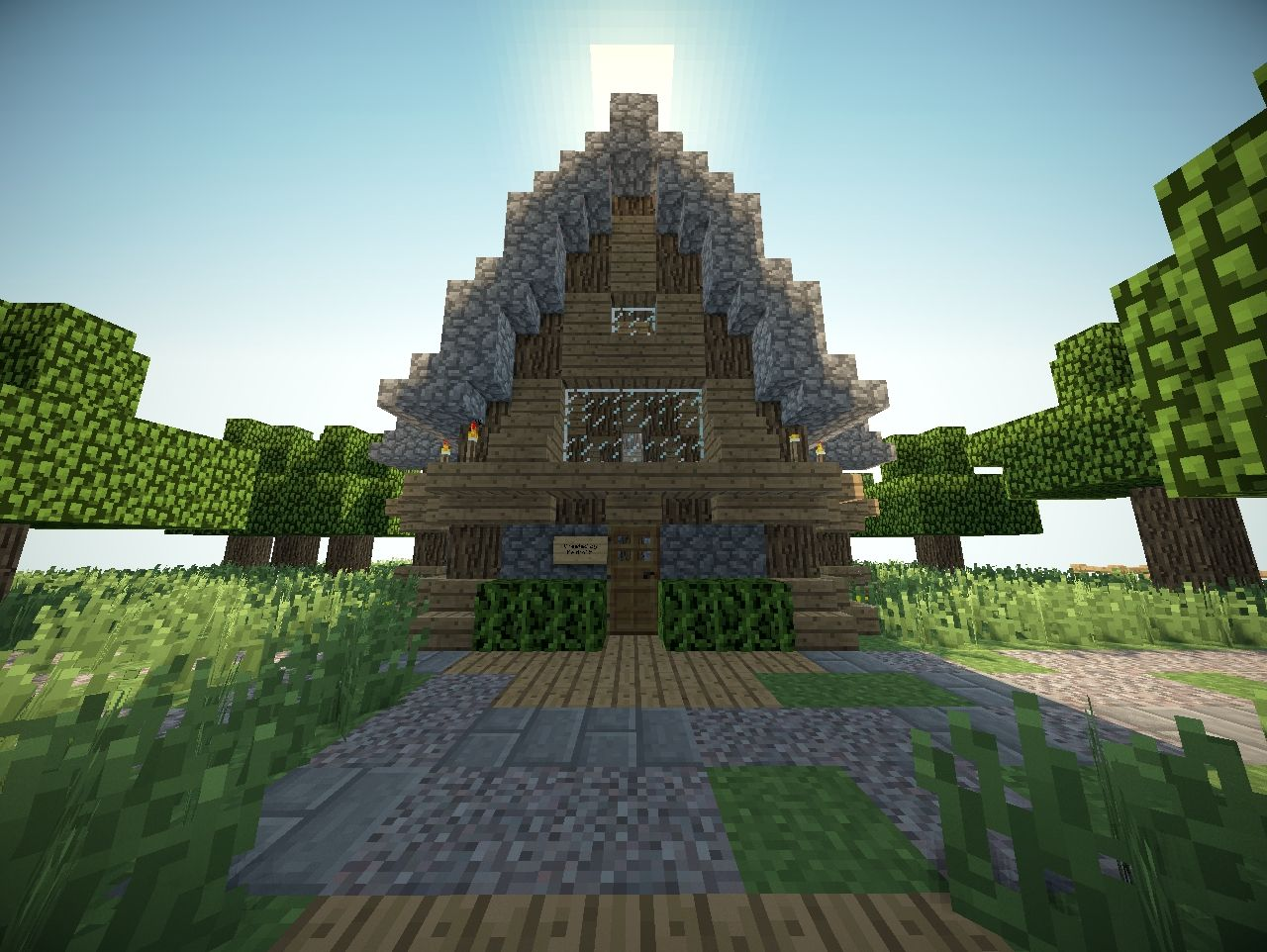 Minecraft Small House Ideas : Pin Small Minecraft House Ideas On Pinterest Picture To Pictures