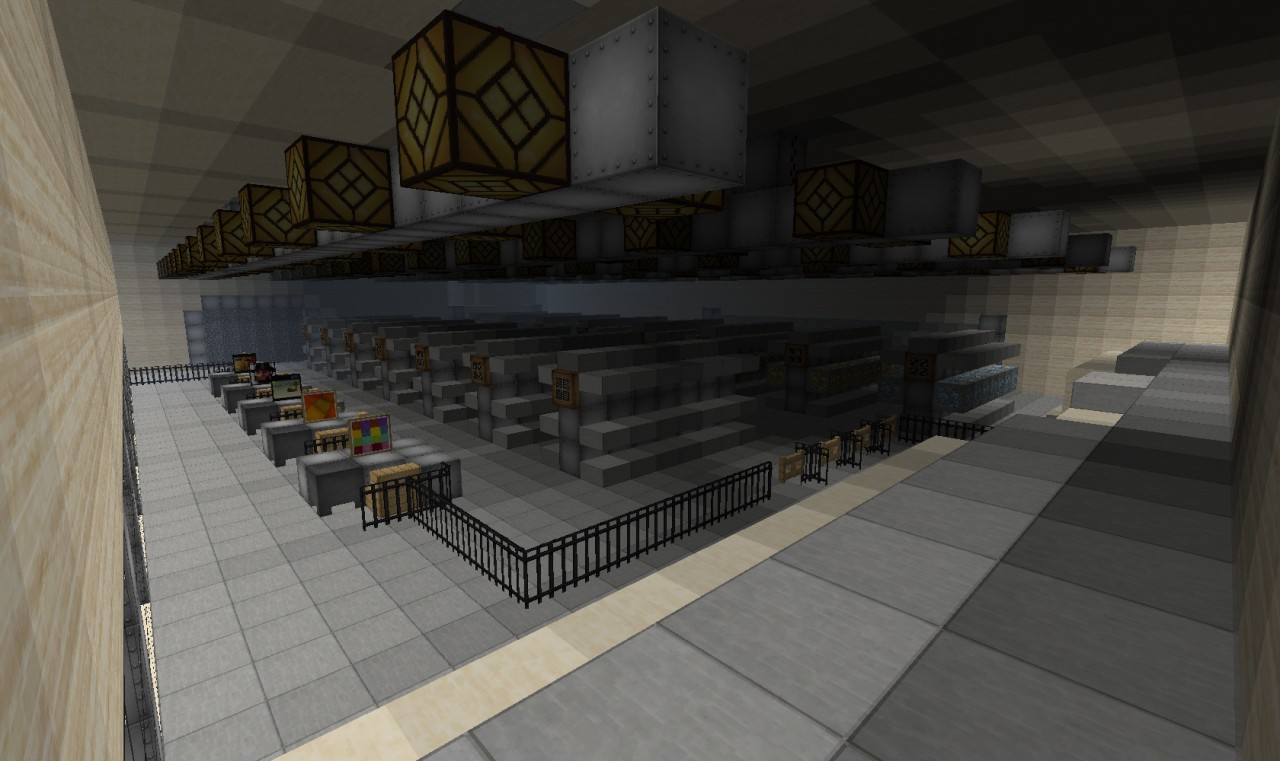 A Supermarket Minecraft Project