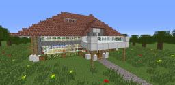 Modern 2012 House (not Decorated) [creative] Minecraft Project