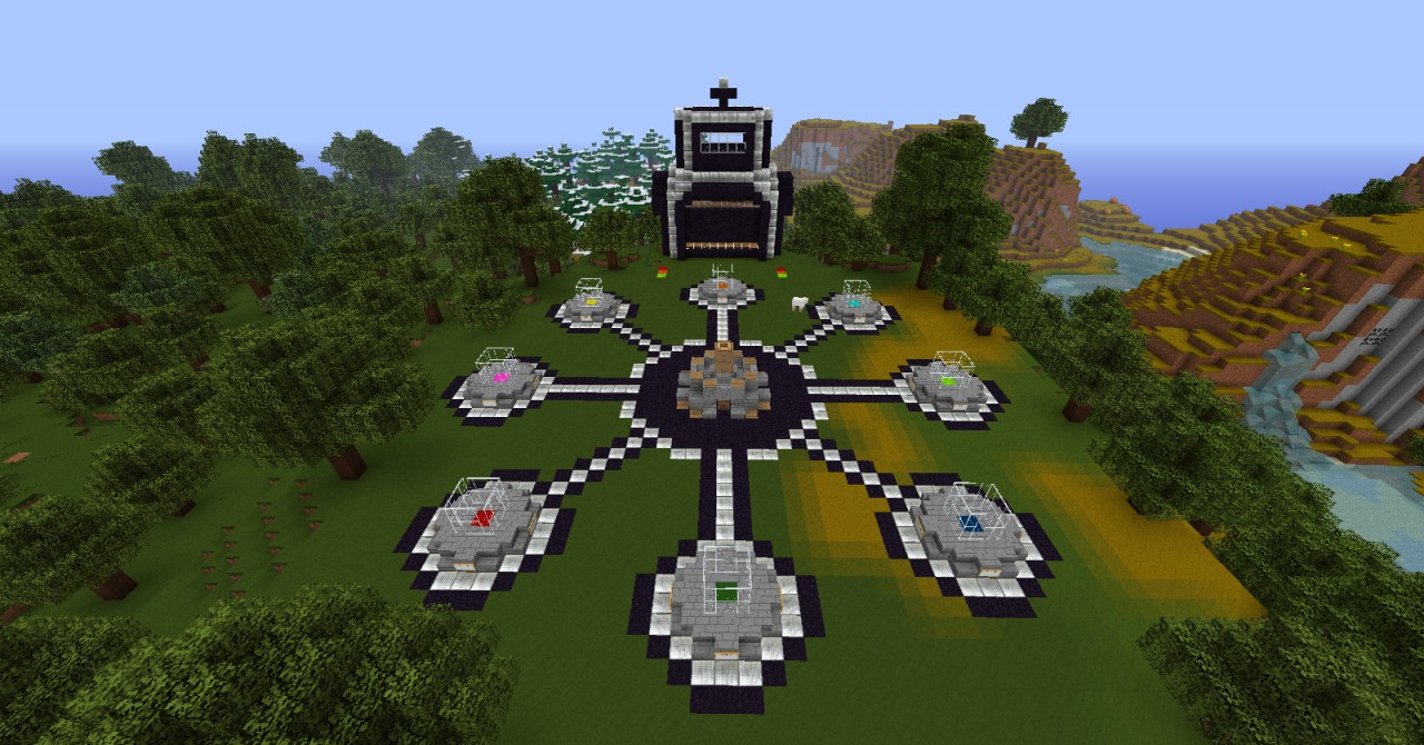 Hunger games map v2 minecraft project for Mine craft hunger games