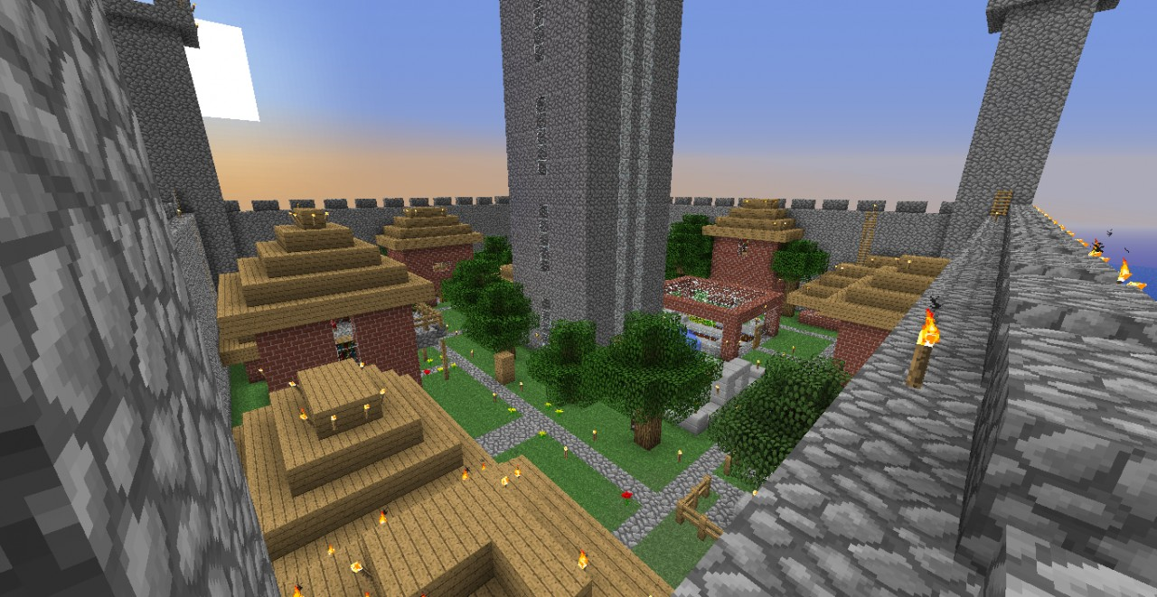 Cobblestone Castle Minecraft Map