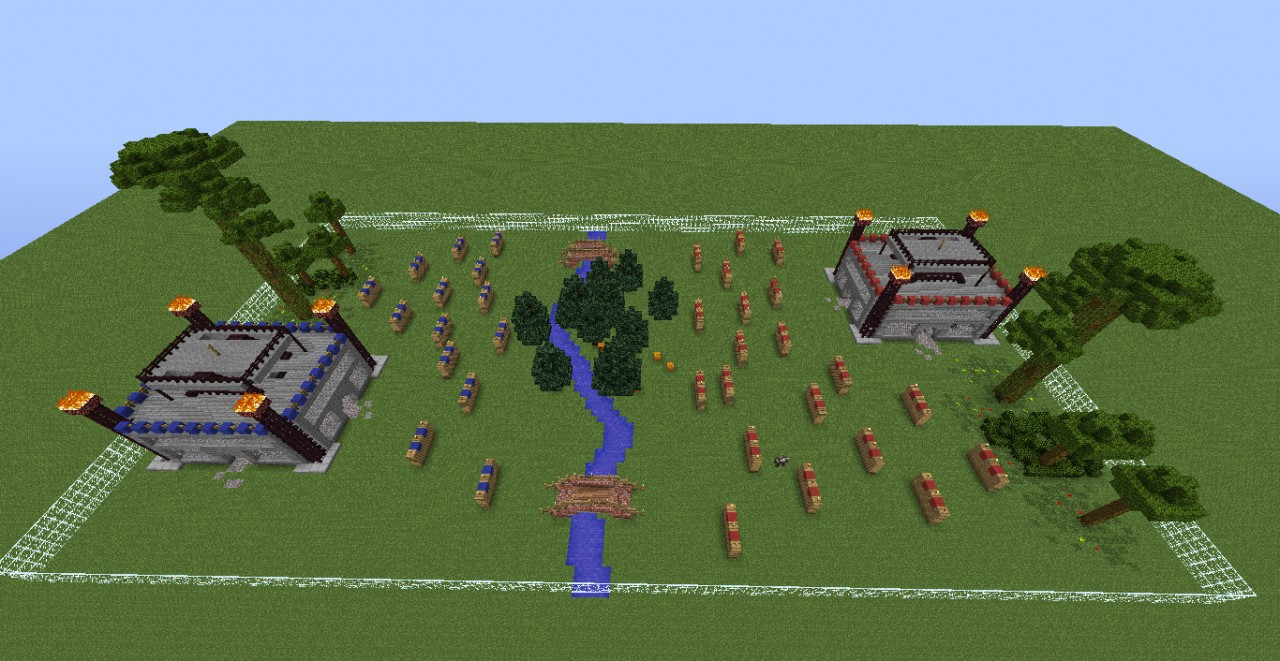 Capture the flag arena minecraft project for Capture the flag