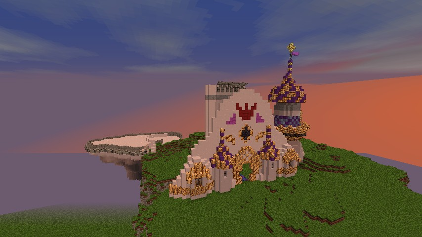 Canterlot from my little pony minecraft project progress 2612 sciox Choice Image