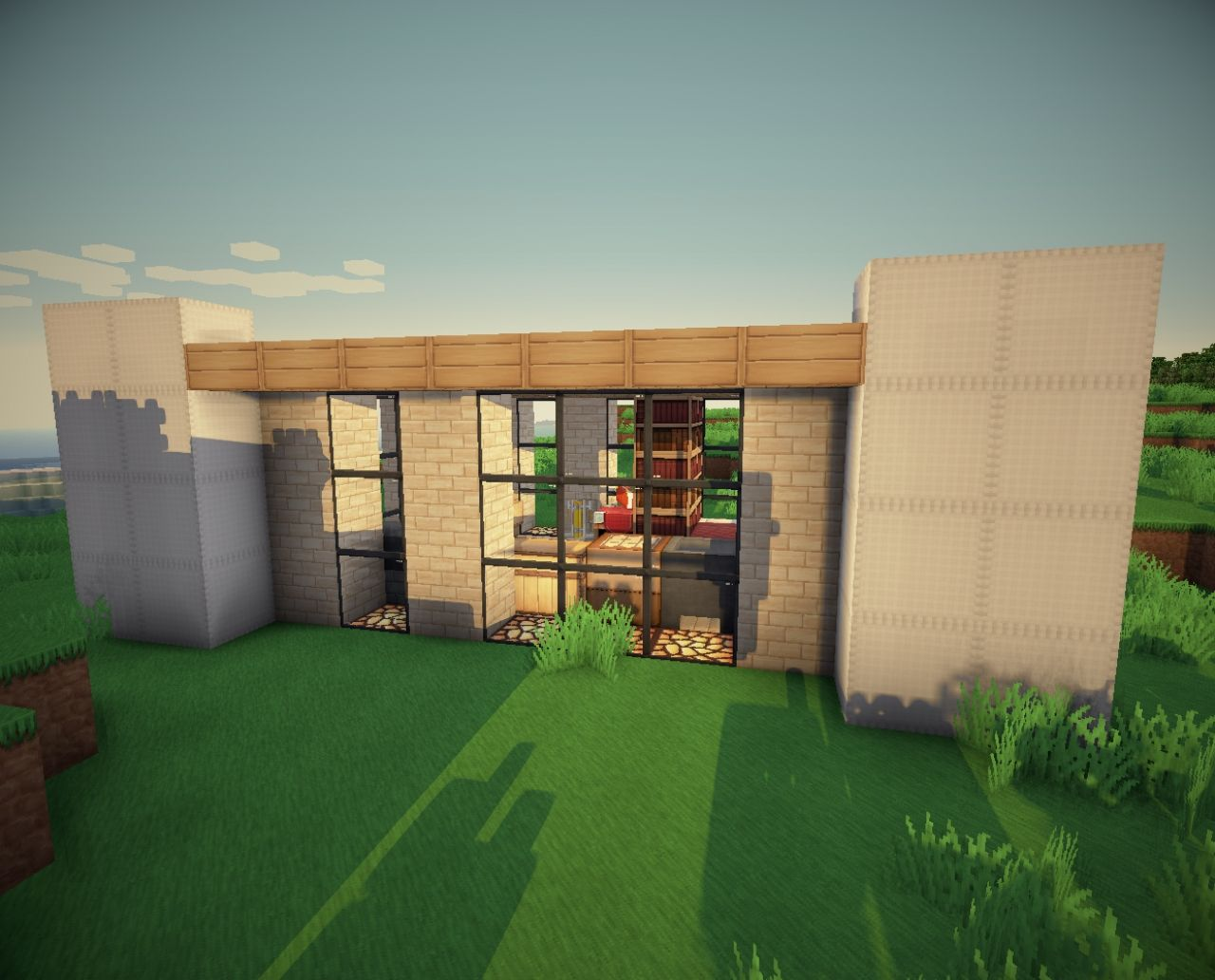 SUP BSI Horacek's modern house - ecreation, Furnitured ... - ^
