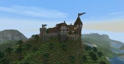 Town on a hill Minecraft Map & Project