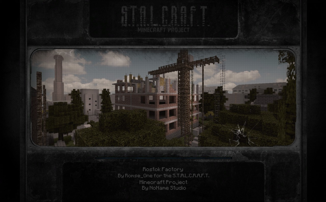 S T A L K E R Rostok Factory 1 1 Minecraft Project