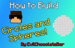 How to Build Circles & Spheres! Minecraft