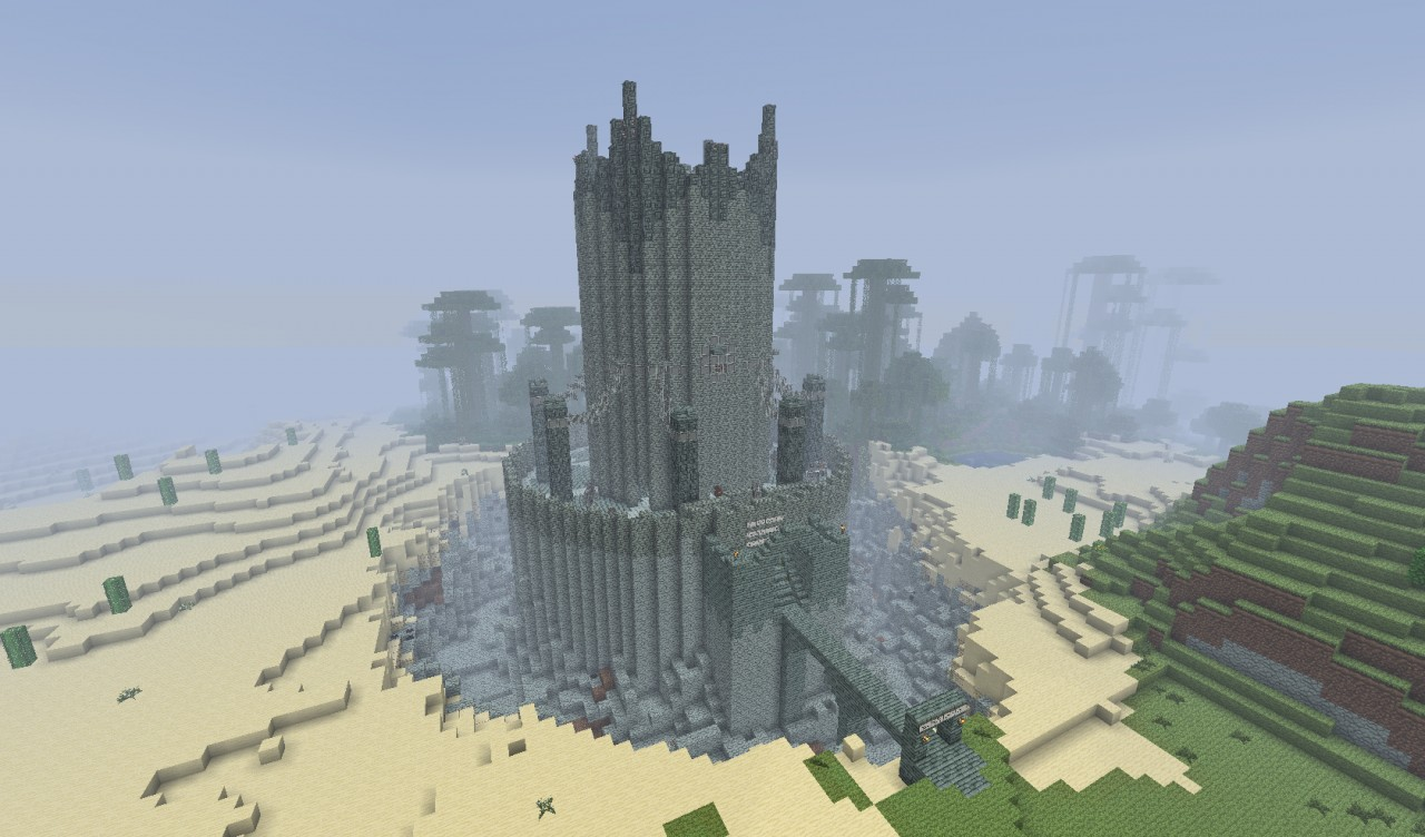 The Tower Of Evil Gt D Minecraft Project