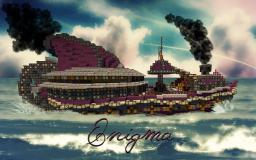 Enigma - Steampunk Fantasy Ship Minecraft