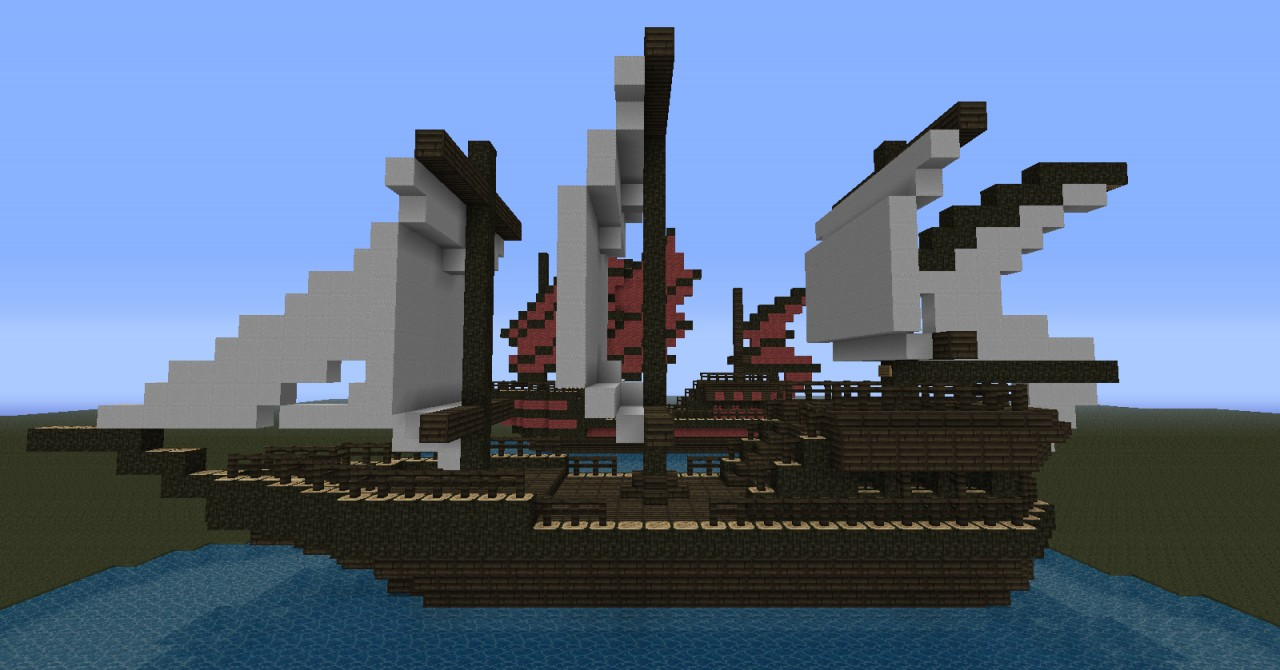 Ships Schematics Minecraft Project